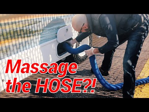 Ep 5: Real World Tips for Dumping the Tanks of your Cruise America RV Even if the Hose Leaks